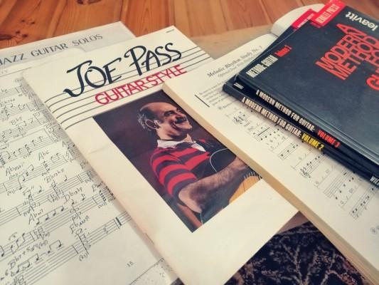 JOE PASS - WILLIAM LEAVITT - CHORD SOLOS