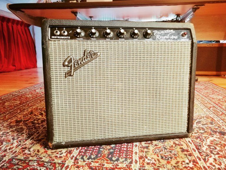 Aldo Spadaro's Fender Princeton Reverb
