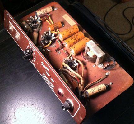 Original Fender 600 Amp Circuitry